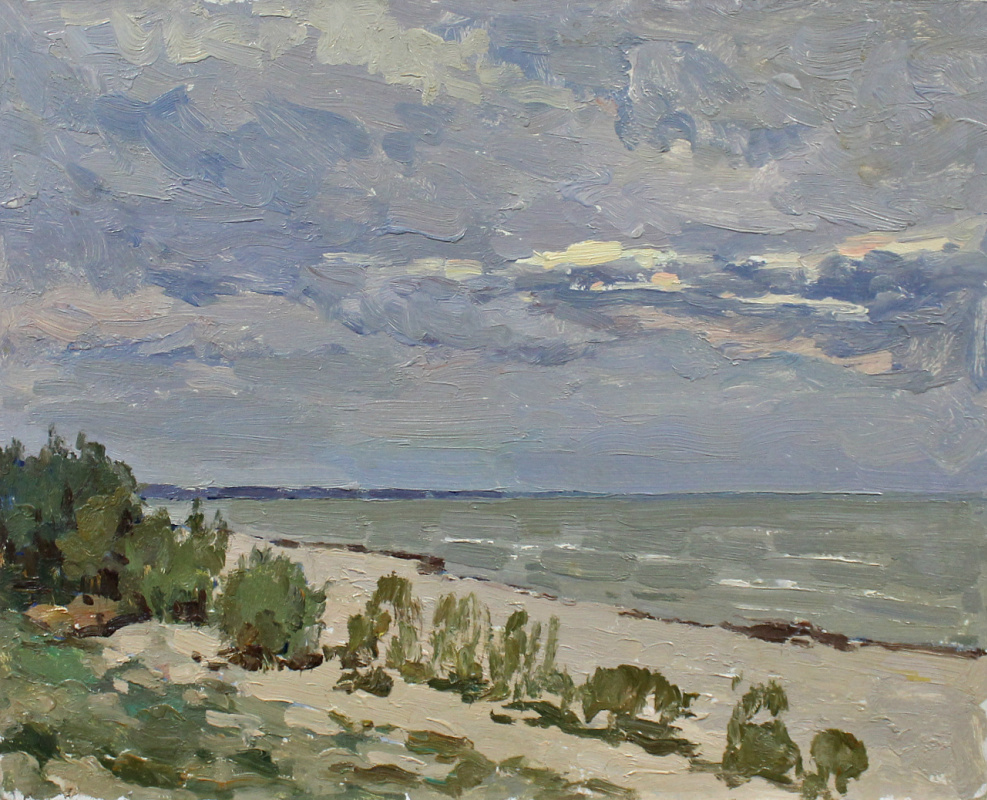 Vasily Nikitovich Zachinaev. The Gulf of Finland