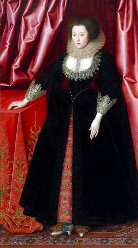 William Larkin. Elizabeth Drury, Countess of Exeter