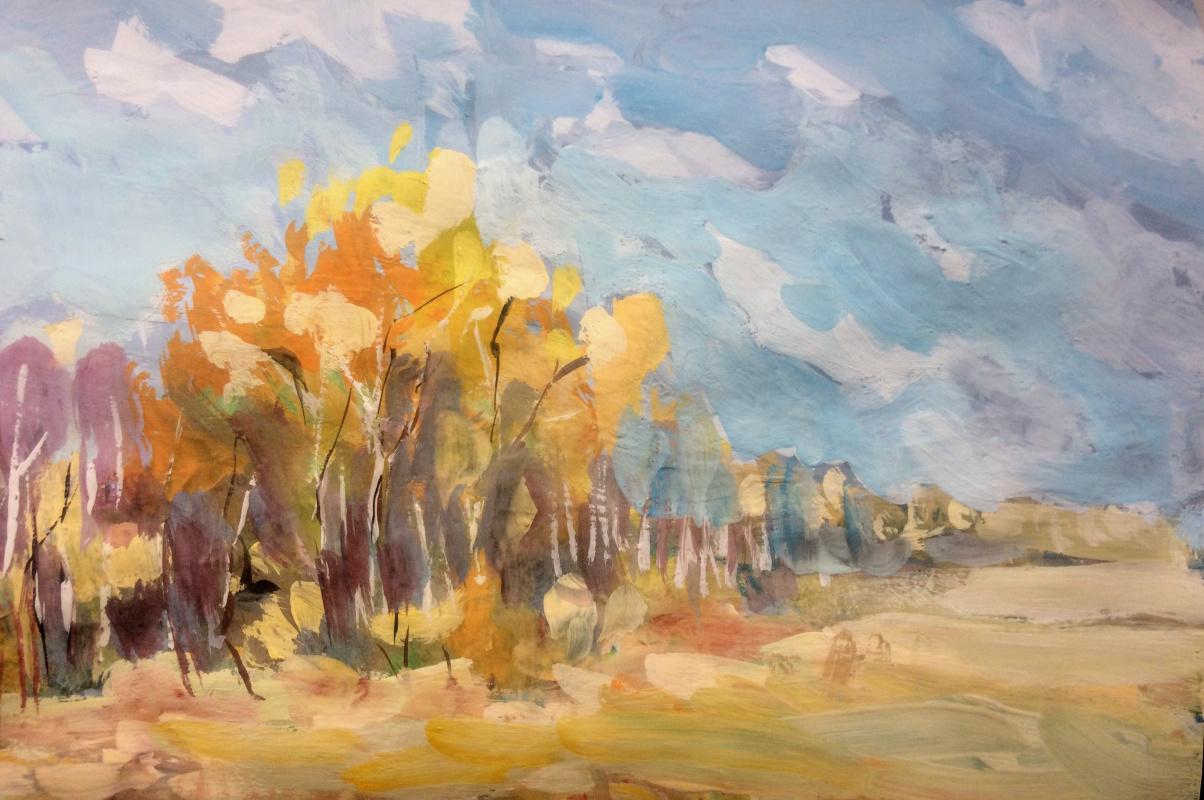 Edward Rudolfovich Votyakov. Gold of autumn