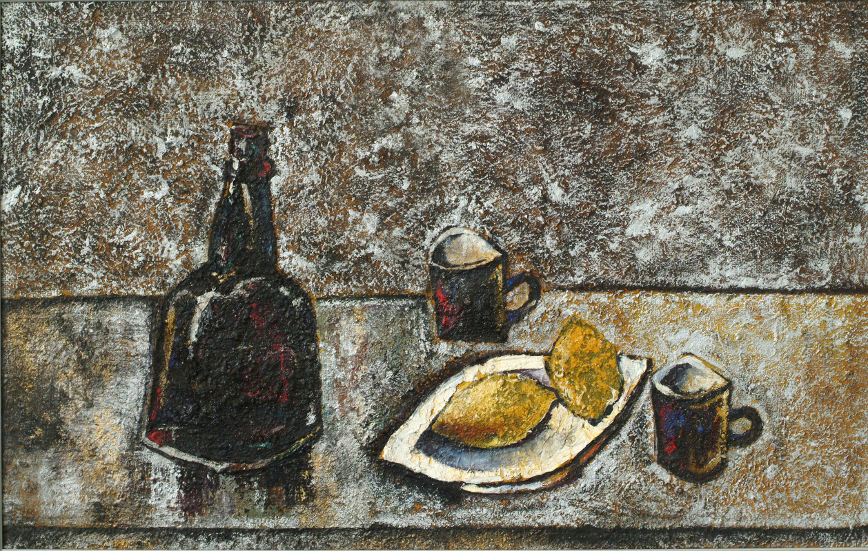 Alexander Shavrin. Still life with lemons