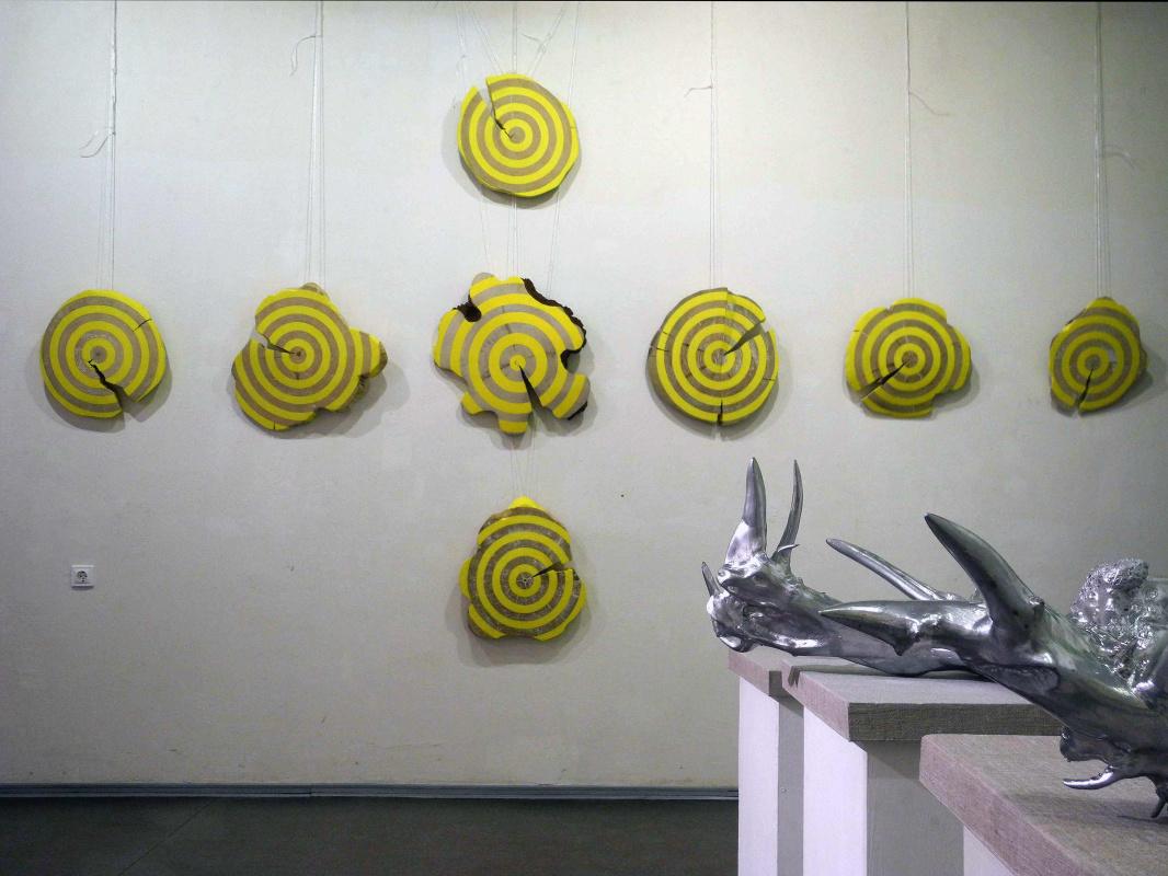 Alexander Mikhailovich Goncharuk. Untitled \ WOOD \ 2010 \ non-toxic Installation \