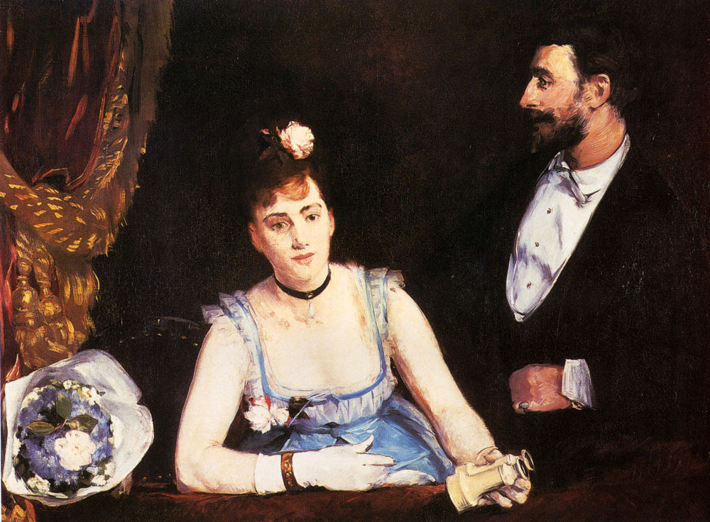 Ева Гонсалес. Ложа в итальянском театре