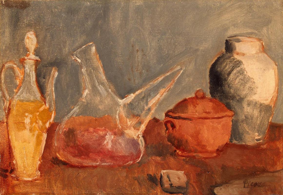 Пабло Пикассо. Стеклянная посуда
