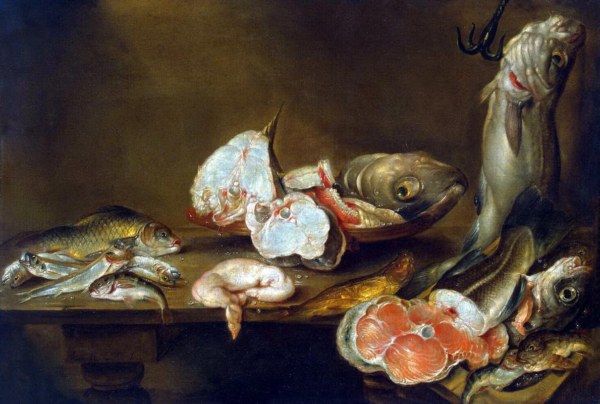 Александр Адриансен. Рыбы