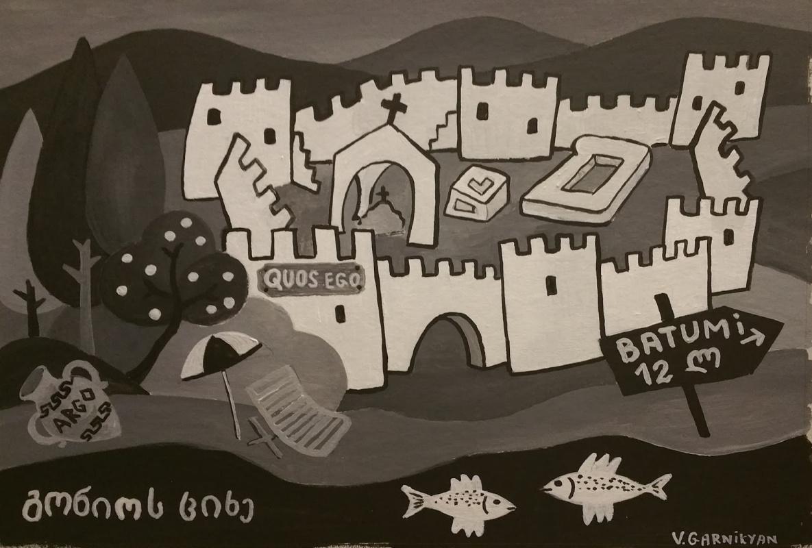 Владимир Гарникян. Gonio Apsaros Fortress. Georgia