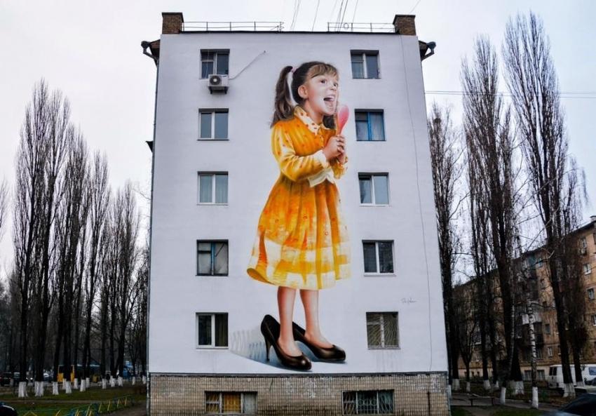 Alexander Korban. Little fashion-girl