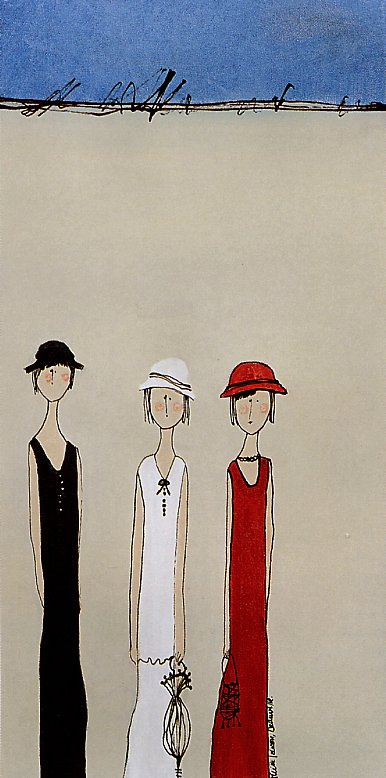 Луиза Лозон. Три девушки