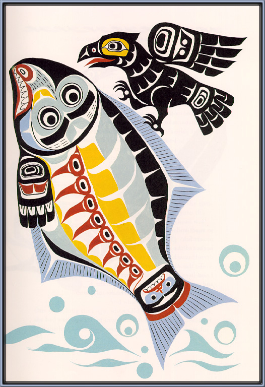 Ворон и рыба