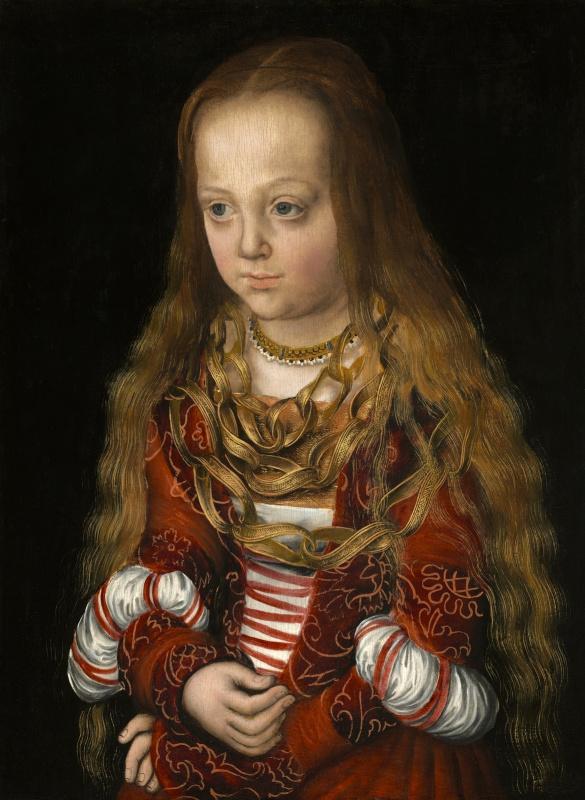 Lucas Cranach the Elder. Princess Of Saxony