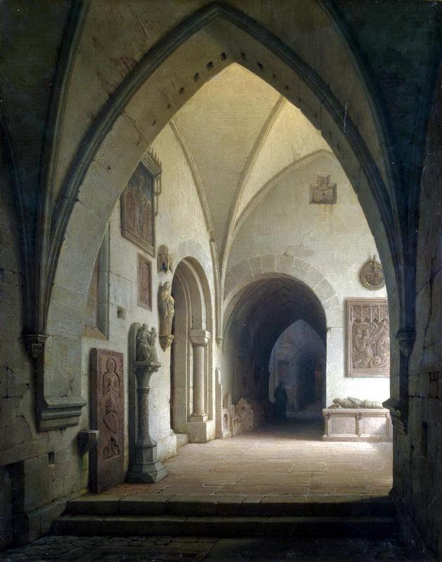 Max Emanuel Einmiller. Interior view of the Church