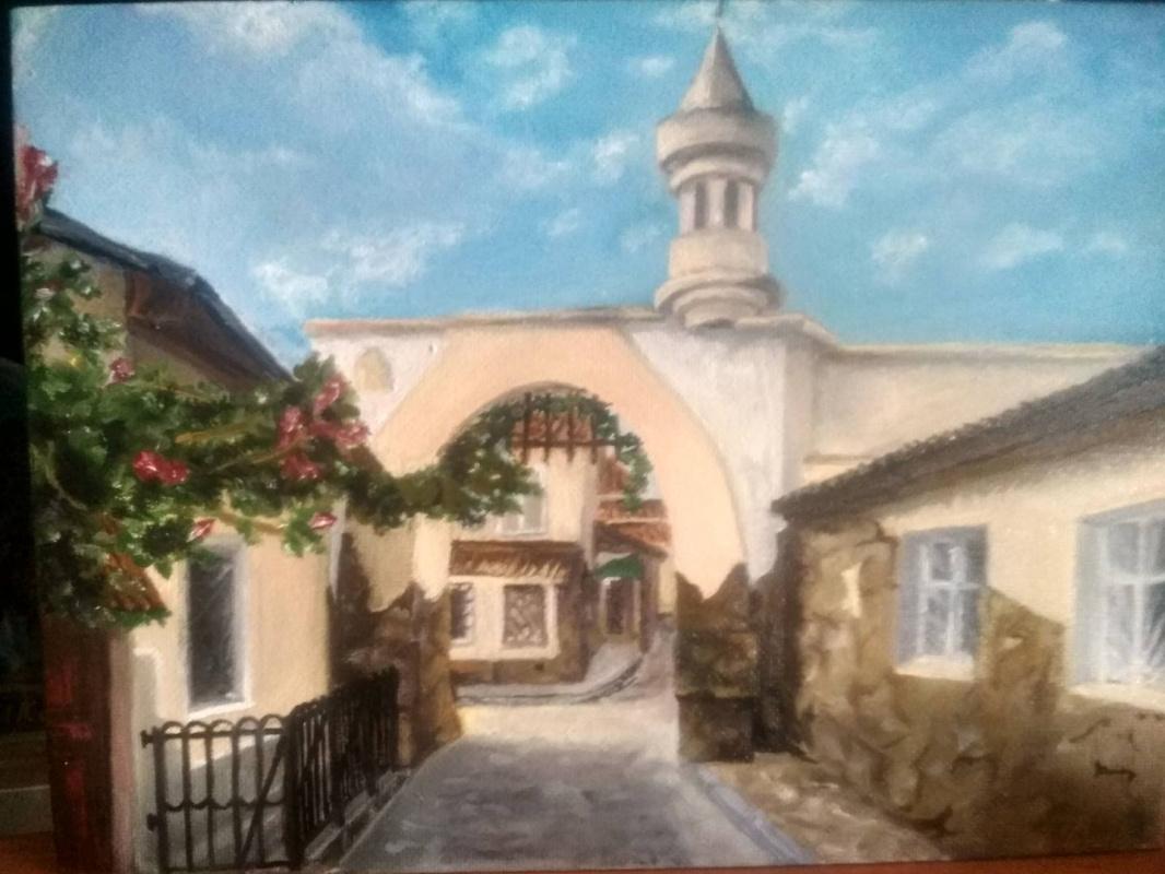 Evpatoria. Jewish town.