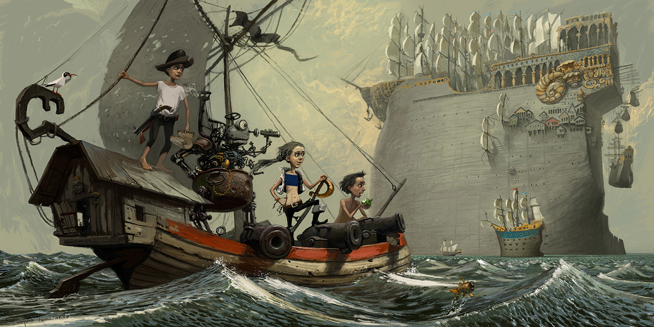 Stepan Grudinin. The pirates