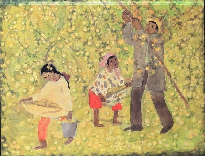Ira Efimovna Vilkovir. Apples