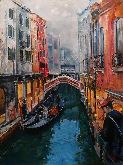 Aram Manucharyan. Venice