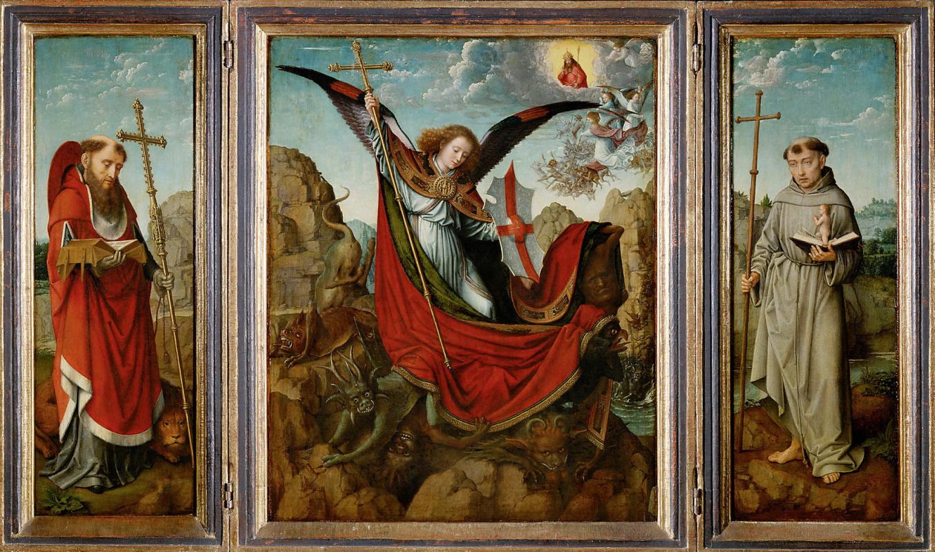 David Gerard. Altar of St. Michael.