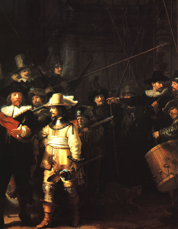 Rembrandt Harmenszoon van Rijn. Night watch