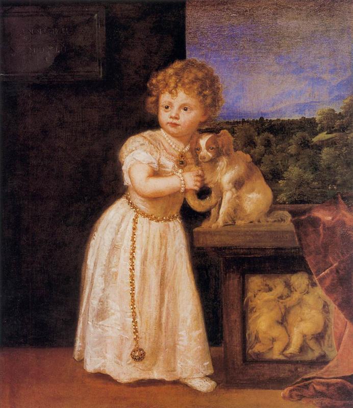 Тициан Вечеллио. Портрет Клариссы Строцци, дочери Роберто Строцци