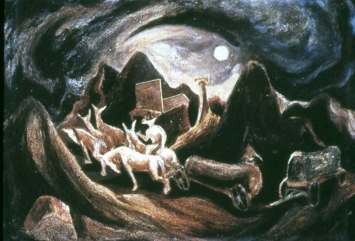 Jackson Pollock. West