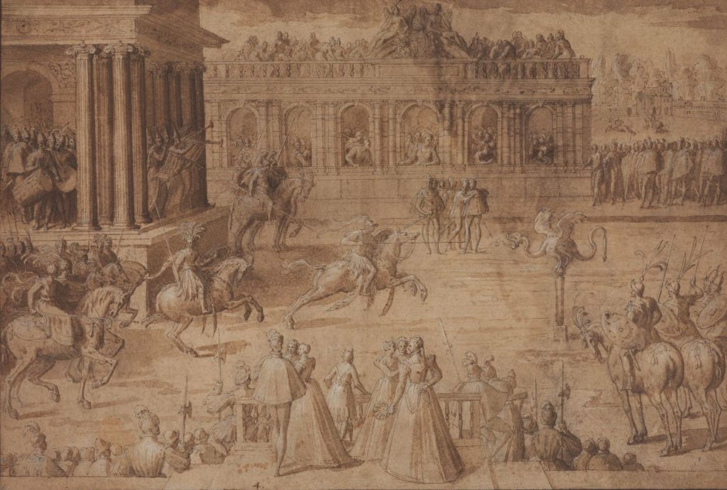 Antoine Karon. Game of Quintain