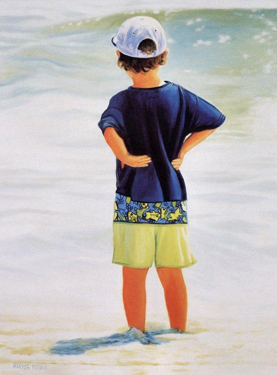 Мариз Пру. Пляж