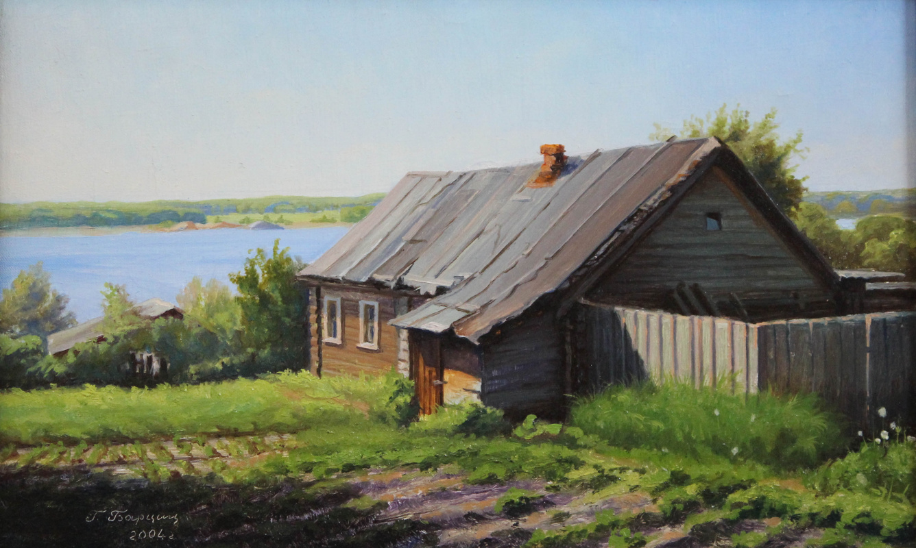 Gennady Shotovich Bartsits. House near the Volga, Myshkin