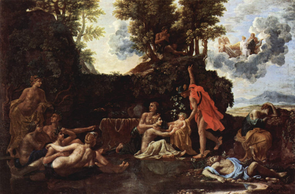 Nicolas Poussin. The Birth Of Bacchus