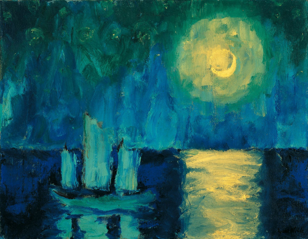Эмиль Нольде. Лунный свет