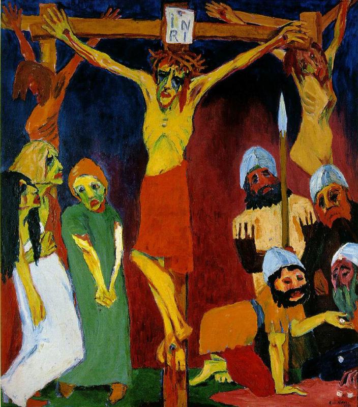 Эмиль Нольде. Распятие на кресте