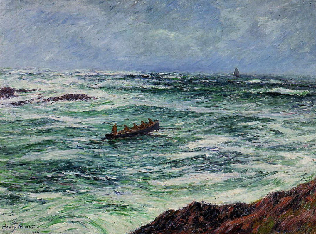 Henry Moret. The Coast Of Brittany