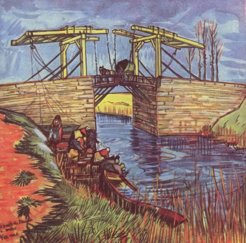 Vincent van Gogh. Bridge Anglua