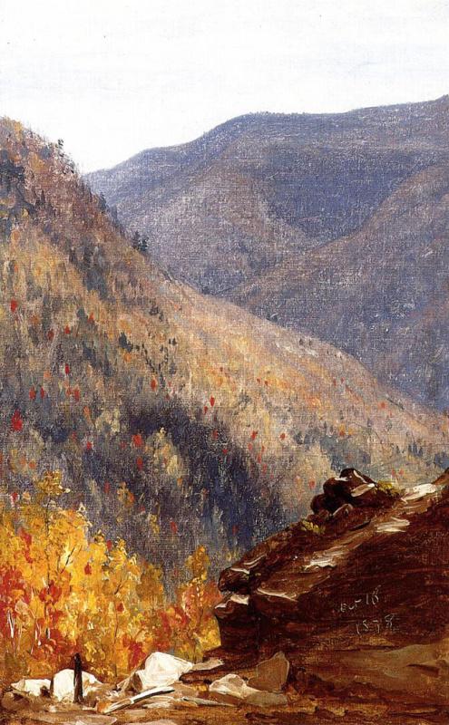 Вид возле ущелья Каутерскилл