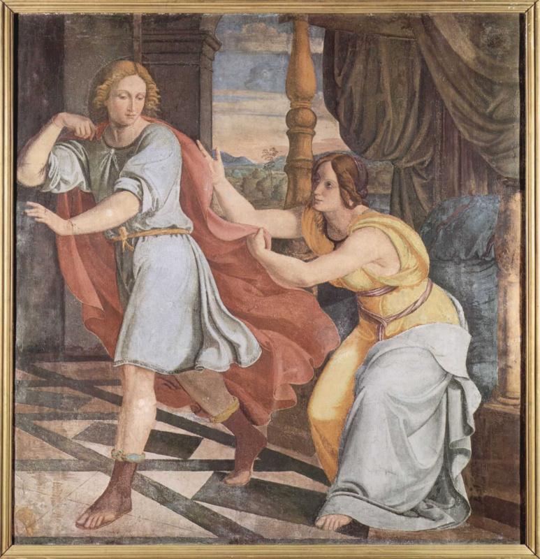 Филипп Фейт. Иосиф и жена Потифара