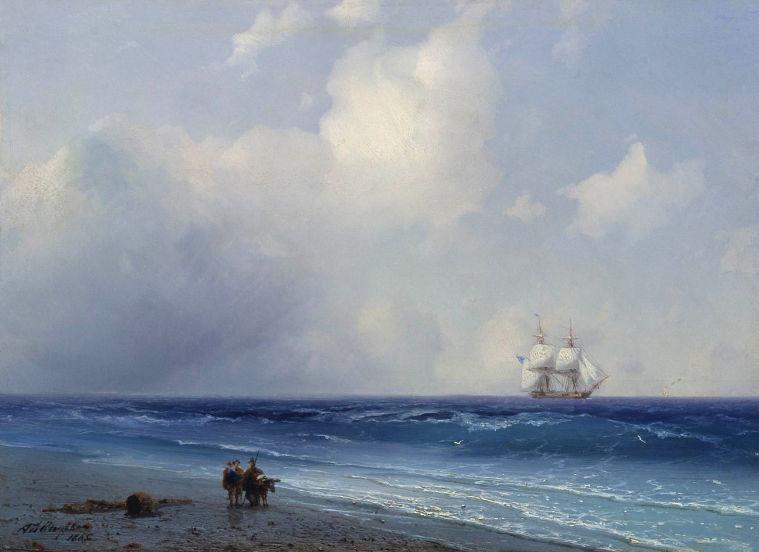 Ivan Aivazovsky. Sea view