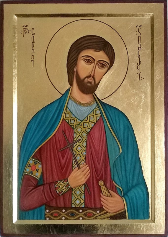 Badri bukia. St. Georgian Tsotne