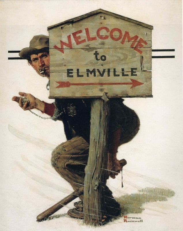 Норман Роквелл. Добро пожаловать в Элмвилл