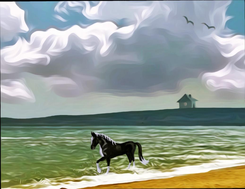 Денис Сергеевич Исмаилов. Лошадь и море