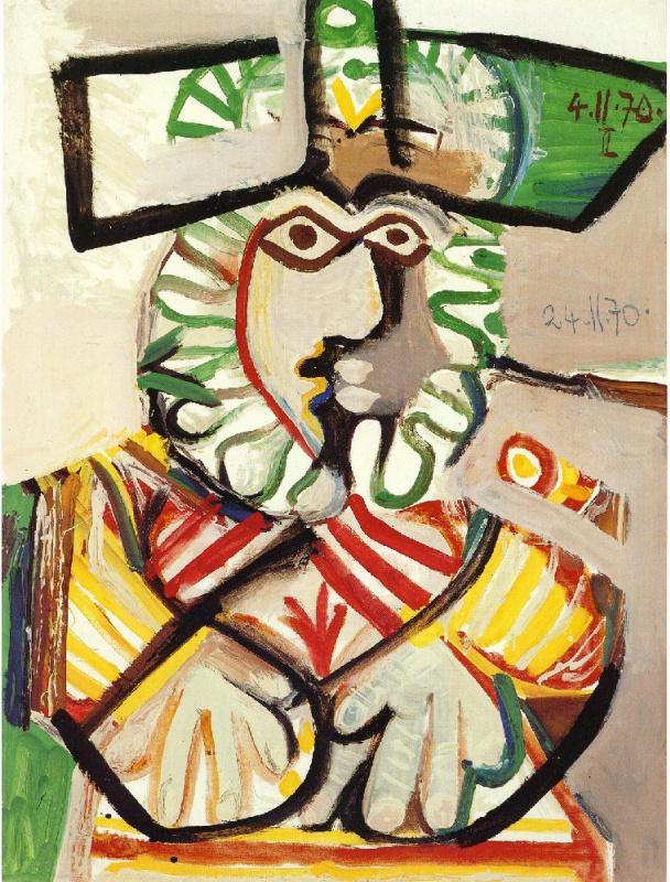 Пабло Пикассо. Мушкетер
