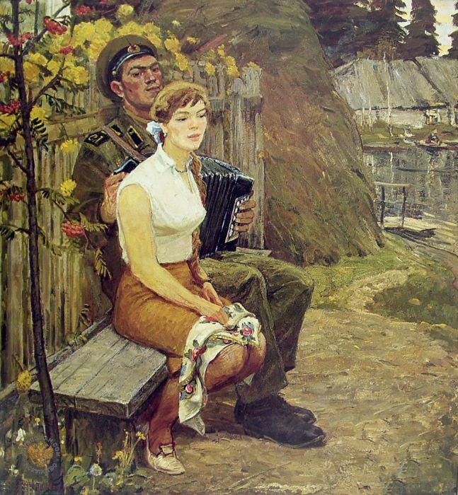 Виктор Константинович Дмитриевский. В последний вечер