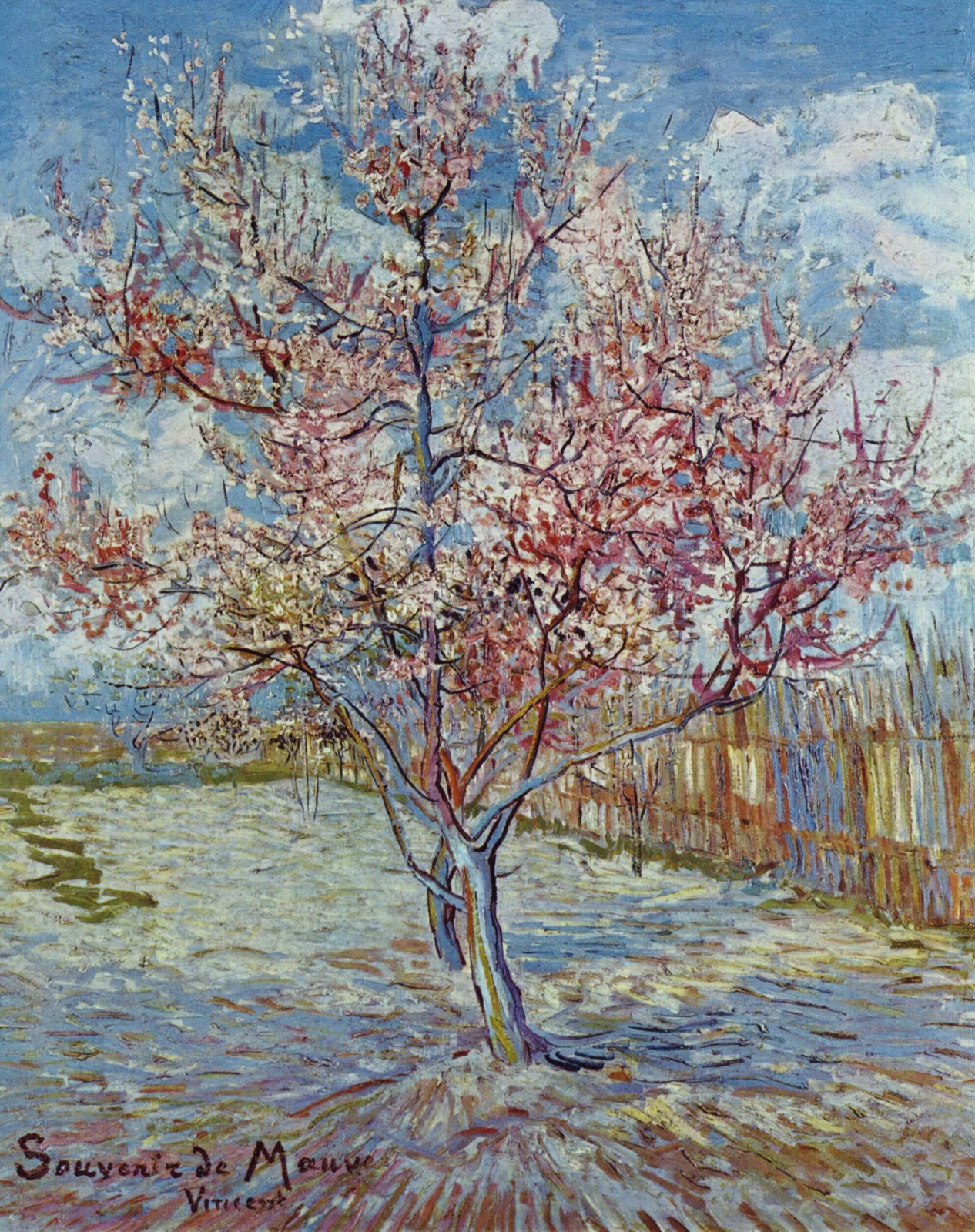 Vincent van Gogh. In memory of lilac