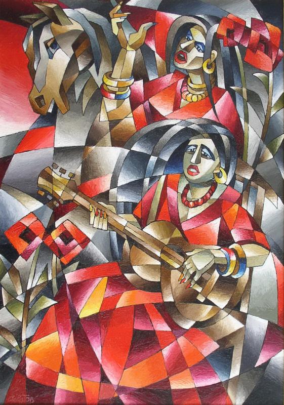Андрей Иванович Саратов. Цыганская песня (дуэт)