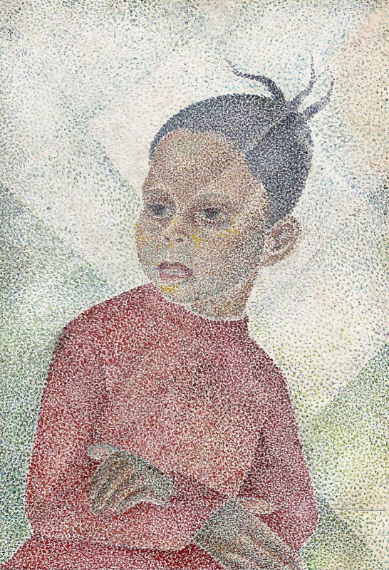 Мария Брониславовна (Воробьева-Стебельская) Маревна. Маленький негритенок.1972