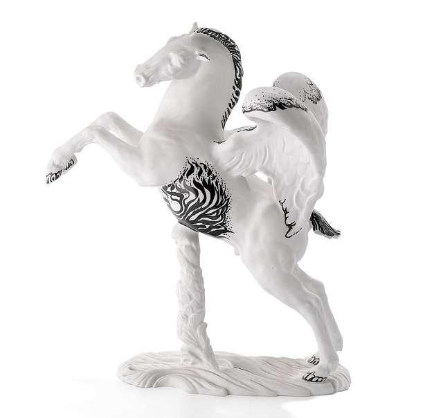 Ernst Fuchs. Pegasus