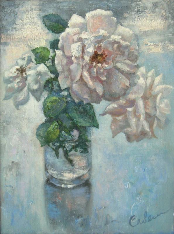 Natalya Savenkova. Белые розы