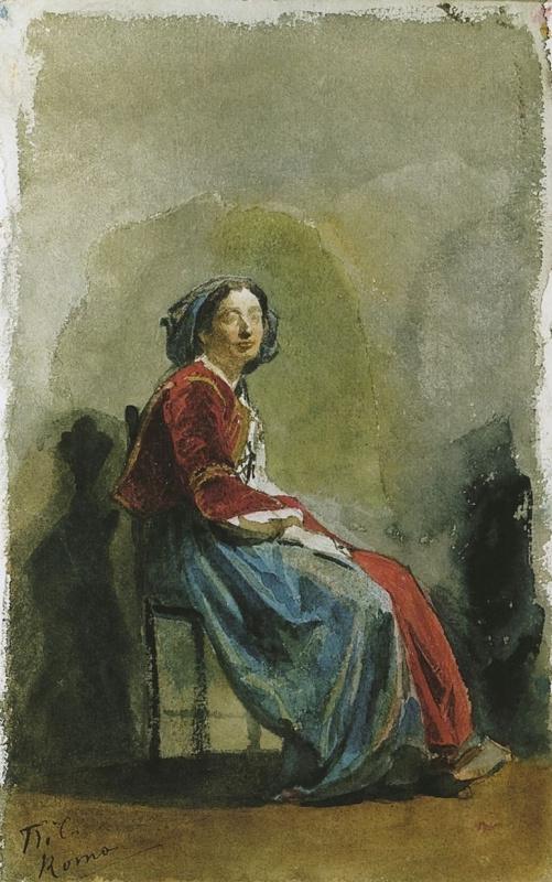Павел Петрович Чистяков. Джованнина