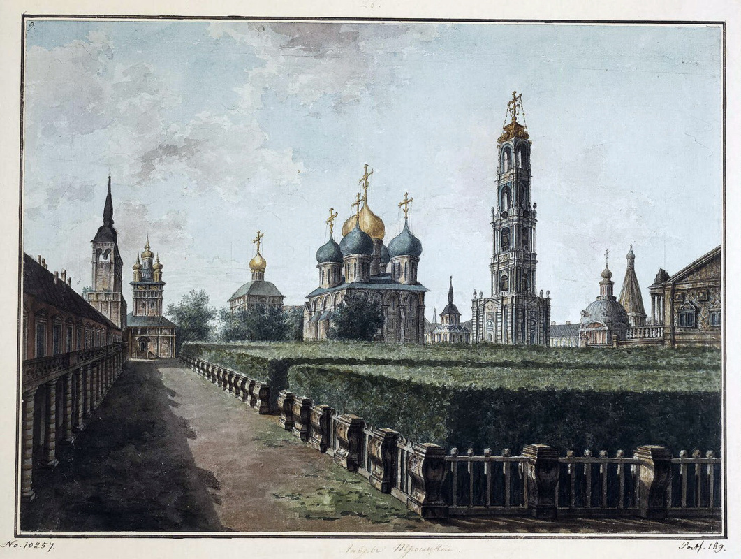 Fedor Yakovlevich Alekseev. The Trinity-Sergius Lavra