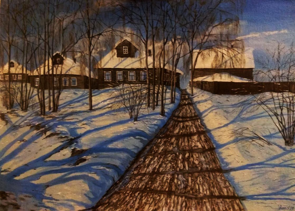 Vladimir Adamovich Ropot. Morning rays