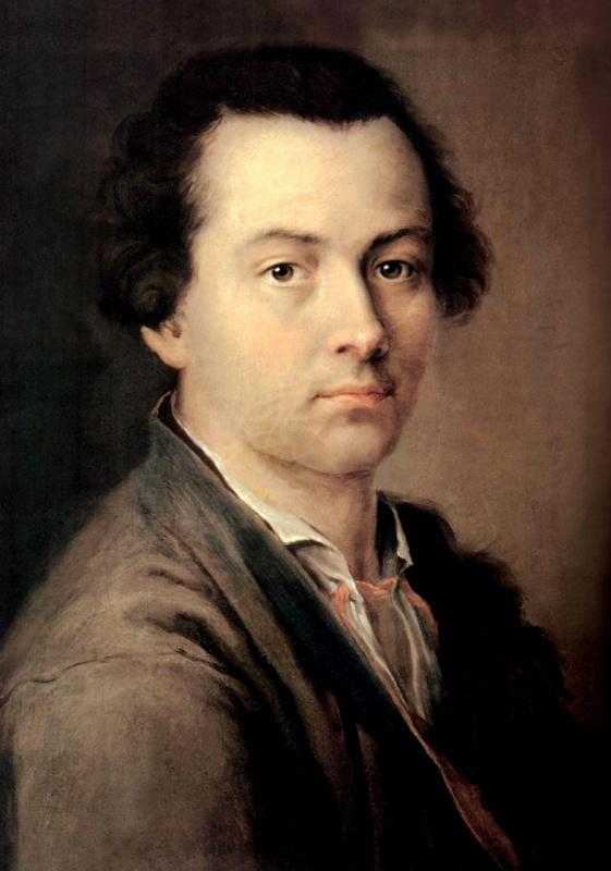 Evgraf Petrovich Chemesov. Self-portrait