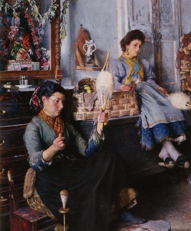 Мариус Мишель. Венецианские женщины