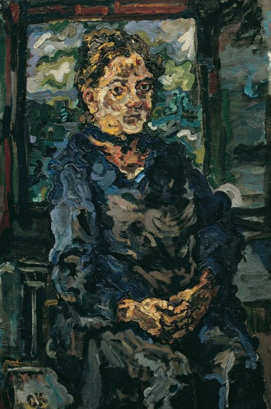 Оскар Кокошка. Портрет матери художника