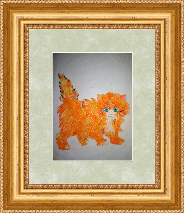 Art-Teodor Gallery.  Ginger kitten